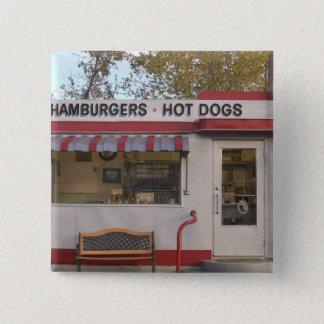 USA, Arizona, Bisbee: Shady Dell Motel, All 2 15 Cm Square Badge