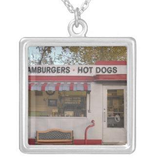 USA, Arizona, Bisbee: Shady Dell Motel, All 2 Silver Plated Necklace
