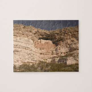 USA, Arizona, Camp Verde: Montezuma Castle Jigsaw Puzzle