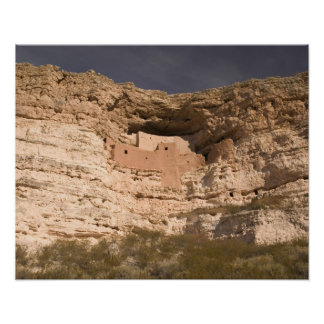 USA, Arizona, Camp Verde: Montezuma Castle Poster