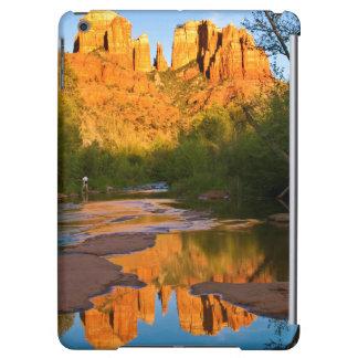 USA, Arizona. Cathedral Rock At Sunset