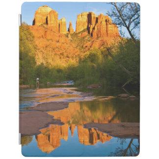 USA, Arizona. Cathedral Rock At Sunset iPad Cover