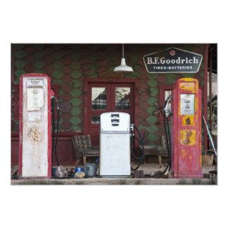USA, Arizona. Chloride Ghost Town, old gas Photograph