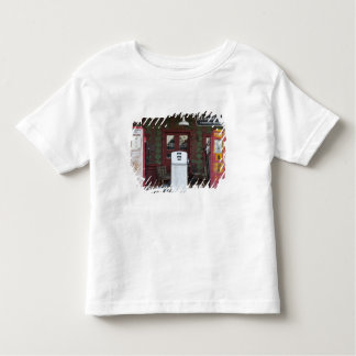 USA, Arizona. Chloride Ghost Town, old gas Toddler T-Shirt