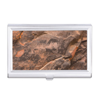 USA, Arizona, Coconino National Forest, Palatki Business Card Holder
