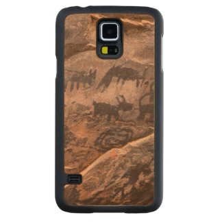 USA, Arizona, Coconino National Forest, Palatki Carved Maple Galaxy S5 Case