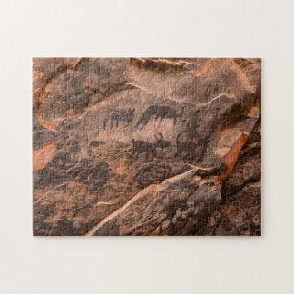 USA, Arizona, Coconino National Forest, Palatki Jigsaw Puzzle