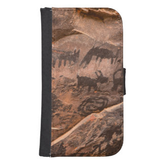 USA, Arizona, Coconino National Forest, Palatki Samsung S4 Wallet Case