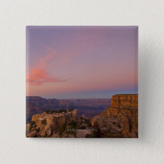 USA, Arizona, Grand Canyon at sunset 15 Cm Square Badge