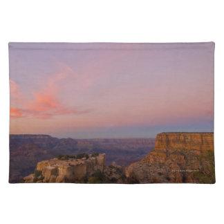 USA, Arizona, Grand Canyon at sunset Placemat
