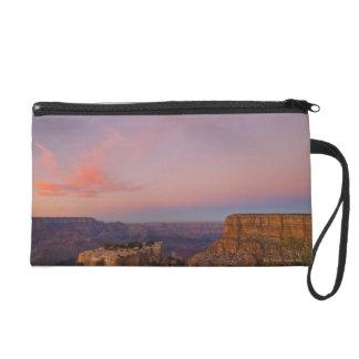 USA, Arizona, Grand Canyon at sunset Wristlet Clutches