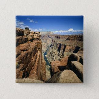 USA, Arizona, Grand Canyon National Park, 15 Cm Square Badge