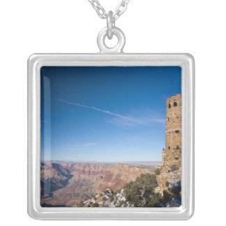 USA, Arizona, Grand Canyon National Park. Desert Silver Plated Necklace