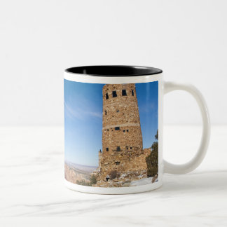 USA, Arizona, Grand Canyon National Park. Desert Two-Tone Coffee Mug