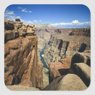 USA, Arizona, Grand Canyon National Park, Square Stickers