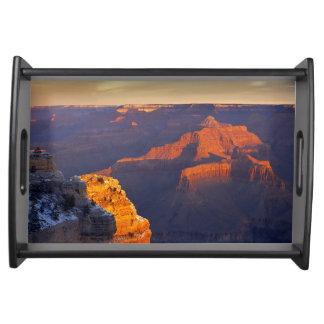 USA, Arizona, Grand Canyon National Park, Winter Serving Tray