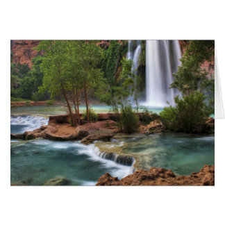USA, Arizona, Havasu Canyon. The peaceful Card