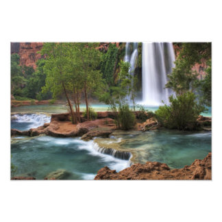 USA, Arizona, Havasu Canyon. The peaceful Photo Print