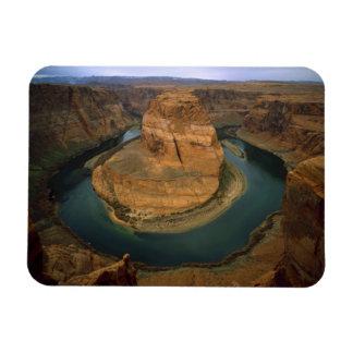 USA, Arizona. Horseshoe Bend showing erosion by Magnet