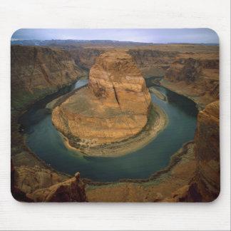 USA, Arizona. Horseshoe Bend showing erosion by Mouse Mat