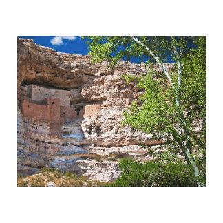 USA, Arizona. Montezuma Castle, The Ruins Canvas Print