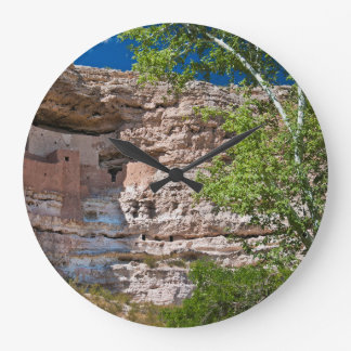 USA, Arizona. Montezuma Castle, The Ruins Clocks