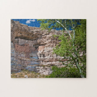 USA, Arizona. Montezuma Castle, The Ruins Jigsaw Puzzle