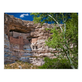 USA, Arizona. Montezuma Castle, The Ruins Postcard