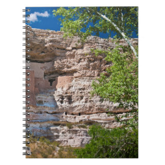 USA, Arizona. Montezuma Castle, The Ruins Spiral Notebook