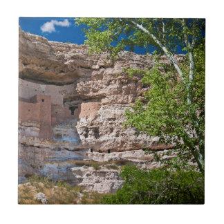 USA, Arizona. Montezuma Castle, The Ruins Tile