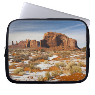 USA, Arizona, Monument Valley Navajo Tribal Laptop Sleeve