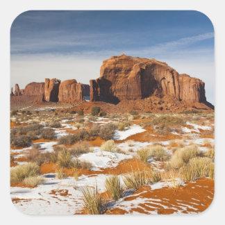 USA, Arizona, Monument Valley Navajo Tribal Square Sticker