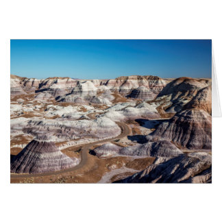 USA, Arizona, Petrified Forest National Park Card
