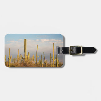 USA, Arizona, Saguaro National Park, Saguaro Luggage Tag