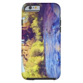 USA, Arizona, Sedona. Cathedral Rock reflecting 2 Tough iPhone 6 Case