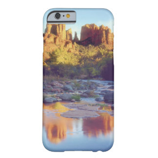 USA, Arizona, Sedona. Cathedral Rock reflecting Barely There iPhone 6 Case