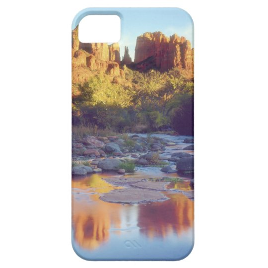 USA, Arizona, Sedona. Cathedral Rock reflecting Case For The iPhone 5
