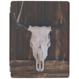 USA, Arizona. Skull On A Shop Wall iPad Cover