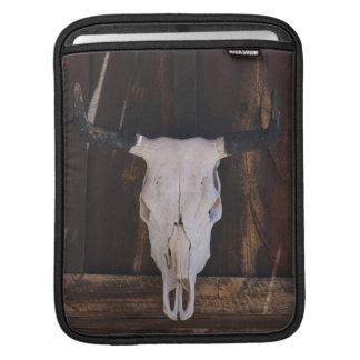 USA, Arizona. Skull On A Shop Wall iPad Sleeve