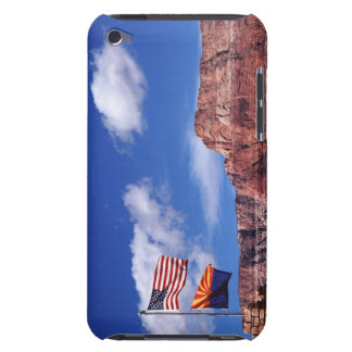USA, Arizona, Tow flags in Grand Canyon National iPod Case-Mate Cases