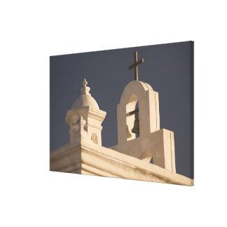USA, Arizona, Tucson: Mission San Xavier del Bac Gallery Wrap Canvas
