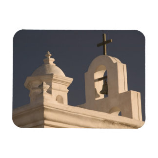 USA, Arizona, Tucson: Mission San Xavier del Bac Rectangular Photo Magnet