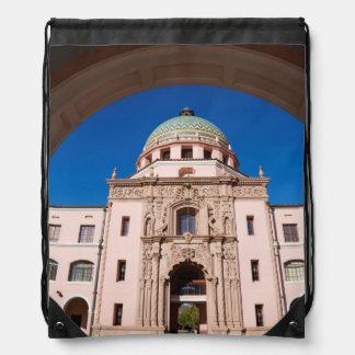 USA, Arizona, Tucson, Pima County Courthouse Drawstring Bag