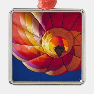 USA, Arizona, Val Vista. A colorful hot-air Christmas Ornament