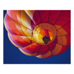 USA, Arizona, Val Vista. A colourful hot-air Poster