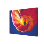 USA, Arizona, Val Vista. A colourful hot-air Stretched Canvas Print