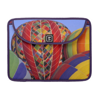 USA, Arizona, Val Vista. Colorful hot-air Sleeve For MacBook Pro