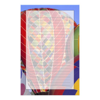 USA, Arizona, Val Vista. Colorful hot-air Stationery