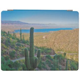 USA, Arizona. View From The Entrance To Tonto iPad Cover