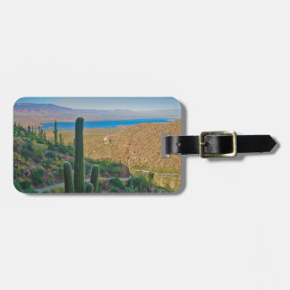 USA, Arizona. View From The Entrance To Tonto Luggage Tag